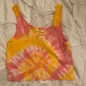 american eagle croppped tank
